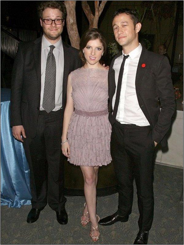 Joseph était à la première du film 50/50 à New York le 26 Septembre 2011
