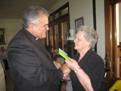 Visita del obispo de Córdoba