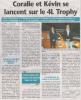 Article Les Nouvelles !