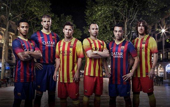 nouveau malliot fc barcelona