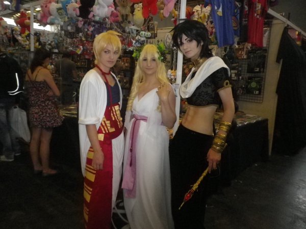 Cosplay de la japan expo ( prit par moi)