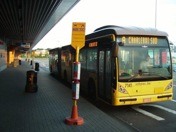 attention la gréve de bus du tec charleroi depots janson et jumets de se matin pourrait se prolonger