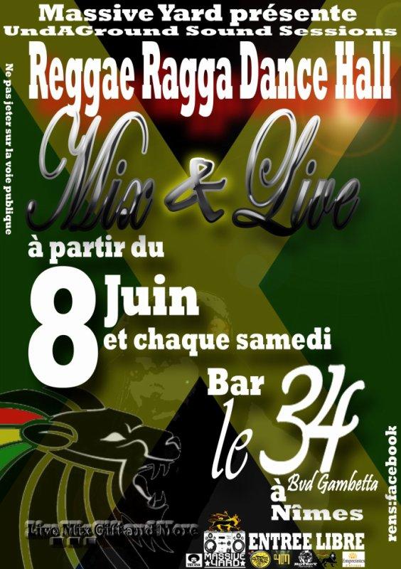 Reggae Ragga DanceHall Mix & Live