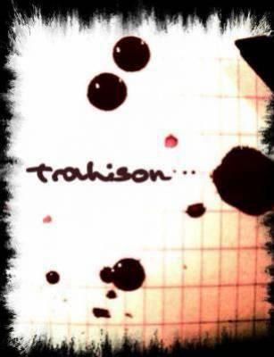 Amour et trahison!!!