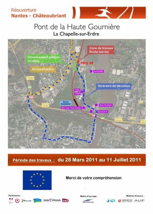 Les horaires du 15 mai 2011