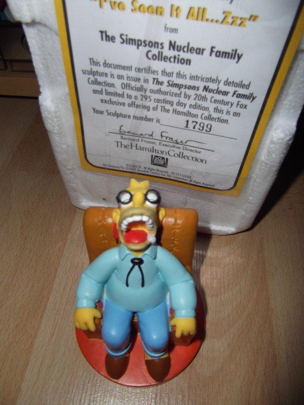 figurine simpsons