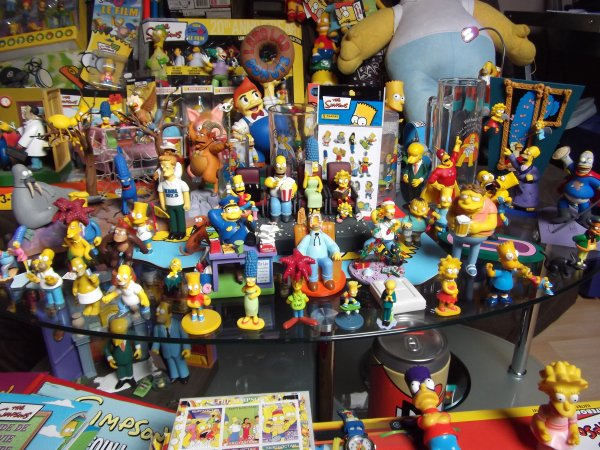Ma collections simpsons
