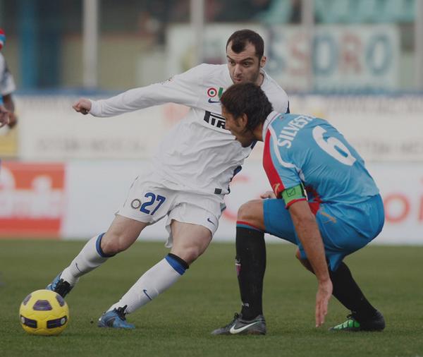 Catane 1 - 2 Inter Milan