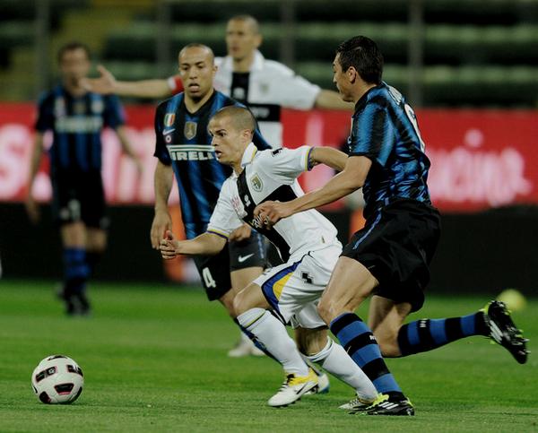 16/04/11 Parme 2 - 0 Inter Milan
