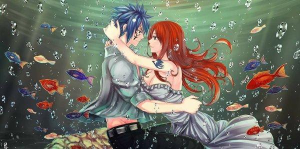 ► One shot Jerza ~ La mariée de l'océan ♥ ◄