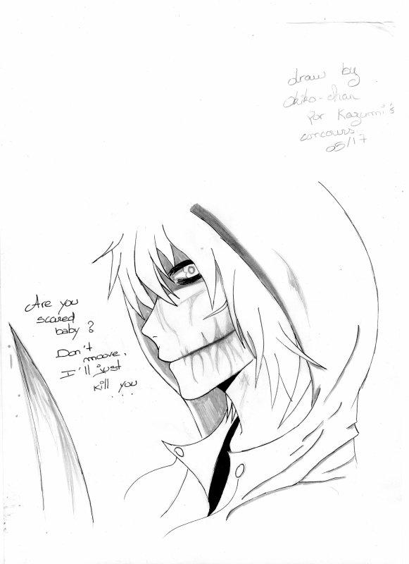 ► Dessin pour le concours de Kazumi-chan ◄