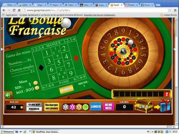Arnaque sur le site www.gooprize.com