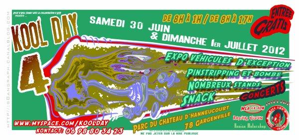 KOOL DAY 4- Samedi 30 juin et Dimanche 1er Juillet 2012