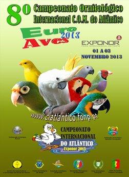 8.º CAMPEONATO INTERNACIONAL DO ATLÂNTICO - 2013