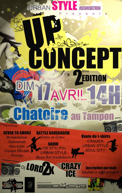 ATTENTION !!!!!  DEUXIEME EDITION DU UP CONCEPT !