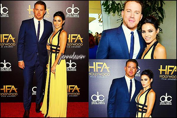 . ► ● ● Le 01/11/15 Jenna était aux au Hollywood Film Awards au Beverly Hilton ● . .