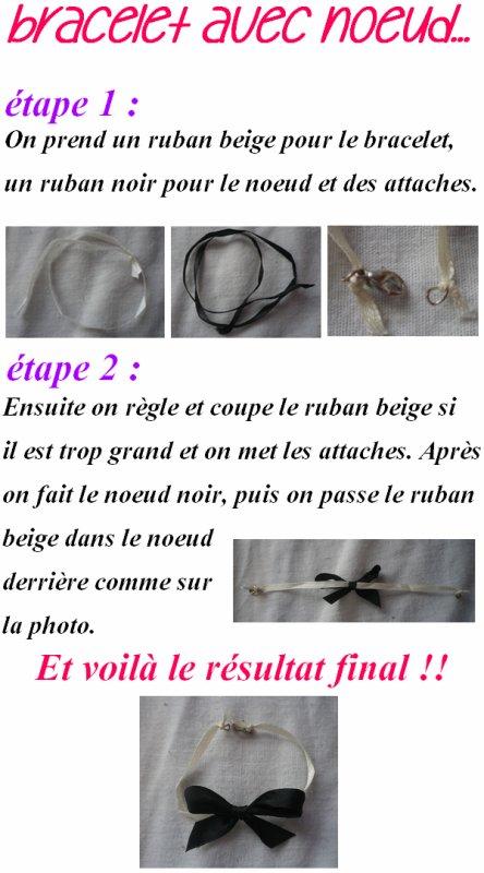 DIY bracelet !
