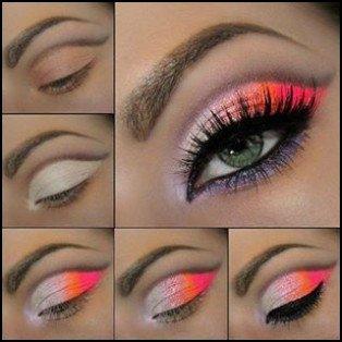 Tuto makeup: coloré et intense