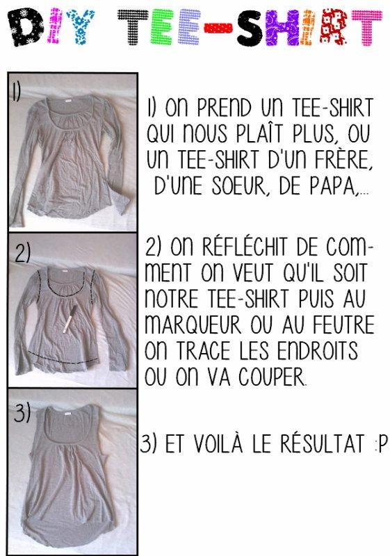 DIY: nouvelle vie au tee-shirt !