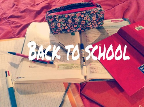 #back to school: Organisation