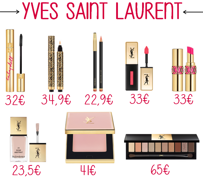 Présentation de la marque Yves Saint Laurent