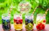 4 recettes de detox water !