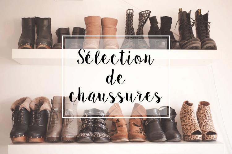 Sélection de chaussures spécial automne/hiver