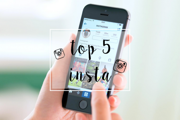 5 comptes instagram que j'adore !