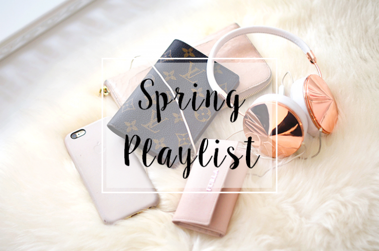 Ma playlist du printemps