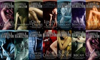 Les aventures d'Anita Blake - Laurell K Hamilton