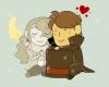 """Chapitre 9: Échappatoire...et Inspecteur? """"À ma Claire, soleil de mes jours. Et à mon Mathew étoile de mes nuits.""""Hershel."""