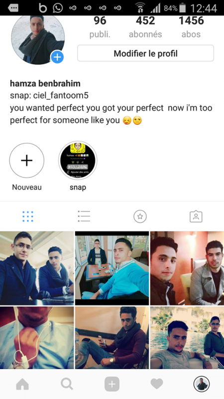 chek my instagram i'll follow back