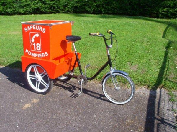 vélo pompier