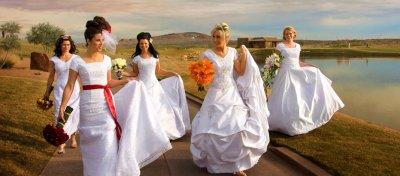 Christmas plus size wedding dresses show!
