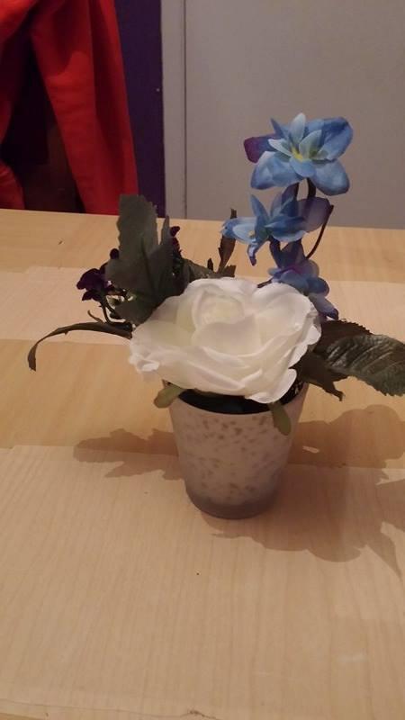 montages de  fleurs