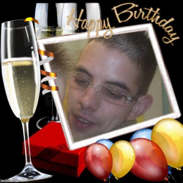 heureux anniversaire a mon beau fils filou pour c est 24 ans papy et mamy