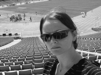 Marina a madrid au stade des jeux olympiques