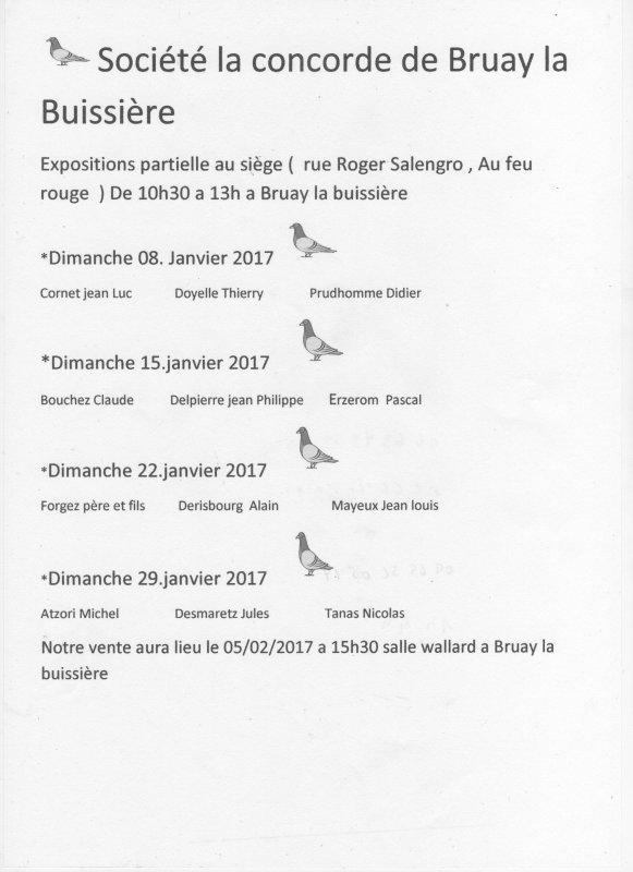 Expo ''La Concorde'' à BRUAY-LA-BUISSIERE