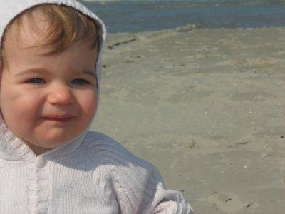 premiere plage de notre fille