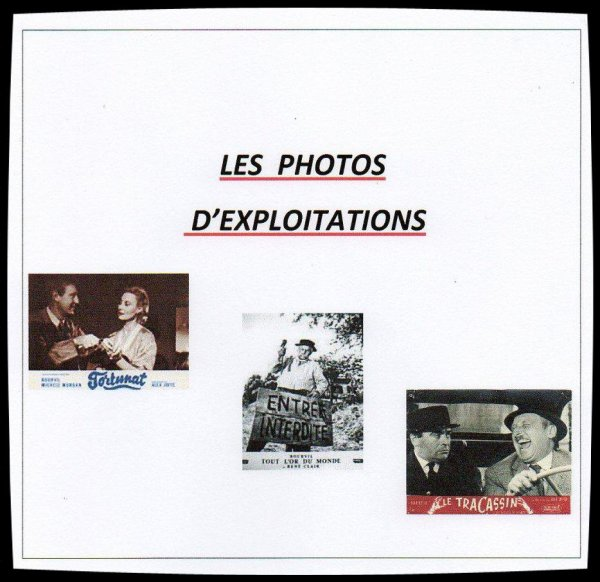 Les Photos d'exploitations