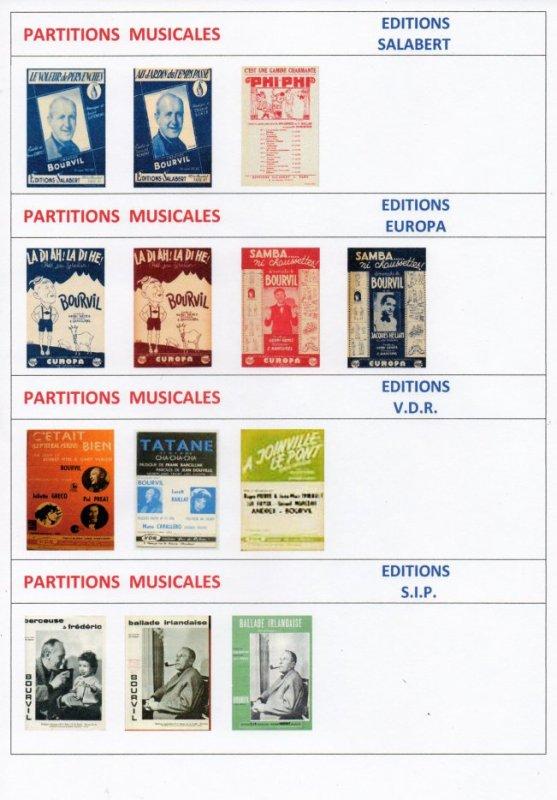 Les Partitions Musicales (2)