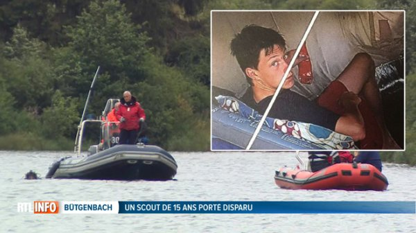 L'adolescent de 15 ans qui avait disparu au lac de Bütgenbach est décédé