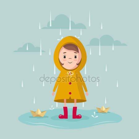 je ne suis pas partit il pleut