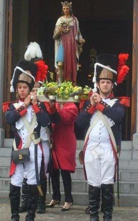 marche saint louis marcinelle ces pas du 19 au 22 aout mais du 26 au 29 aout