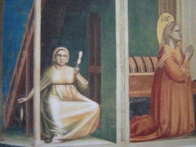 femme filant  XVème siècle