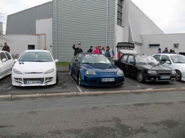 Expo Téléthon voiture du club