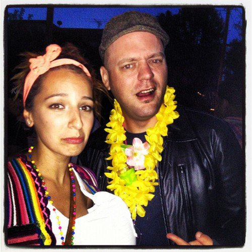 Vanessa Lengies et Darren Criss a La cinco de Mayo Party