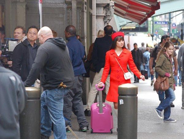 Rachel à New York