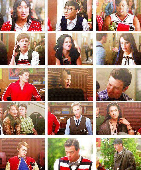 Glee style ...