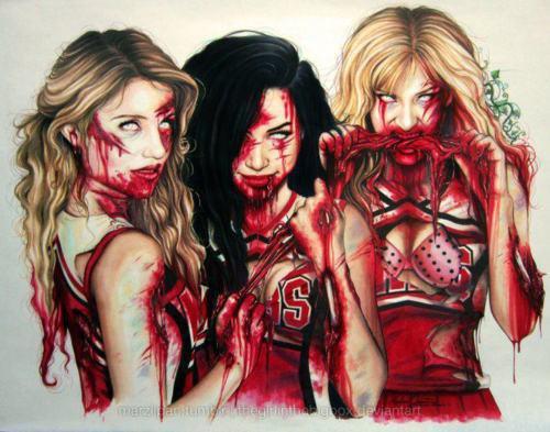 Dianna, Naya, Heather